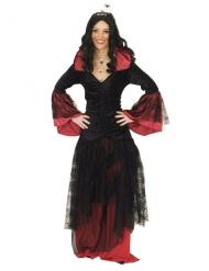 Costume regina delle tenebre per donna halloween