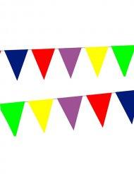 Bandierine multicolore10 m