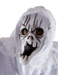 Maschera da fantasma bianco per adulto