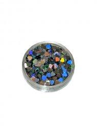 Paillette cuori olografici multicolore 2g