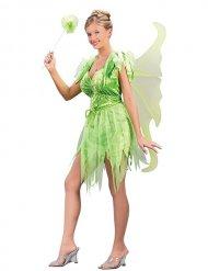 Costume da fata verde sexy per donna