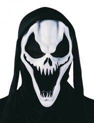 Maschera da scheletro vampiro per adulto