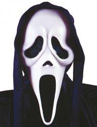 Maschera da fantasma nero e bianco