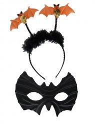 Kit pipistrello arancione e nero