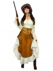 Costume da cowgirl del far west per donna
