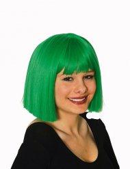 Parrucca verde da donna