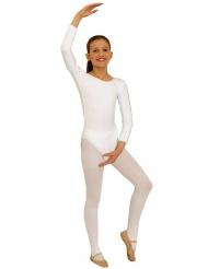 Body a maniche lunghe bianco per bambino