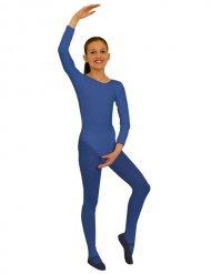 Body a maniche lunghe Blu per bambina