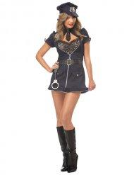 Costume da poliziotta sexy in pizzo per donna
