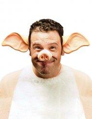 Cerchietto orecchie da maiale per adulto