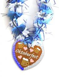 Collana Oktoberfest azzurra
