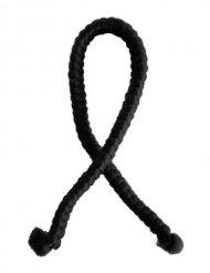 Capelli artificiali in lana neri