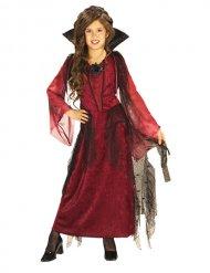 Costume vampiro gotico bambina