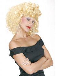 Parrucca bionda anni 50