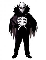 Costume conte scheletro per bambino halloween
