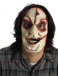 Maschera da assassino con cicatrici per adulto