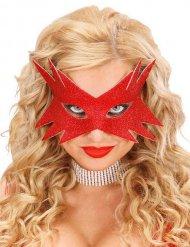 Maschera stella rossa per adulto