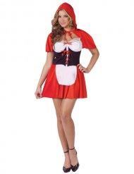 Costume da sexy cappuccio rosso per donna