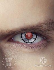 Lenti a contatto occhio di cyborg