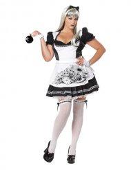 Costume Alice malefica taglia grande