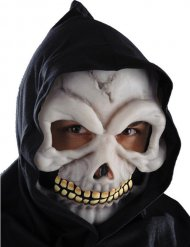 Maschera da scheletro fosforescente