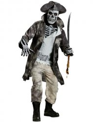 Costume pirata fantasma Halloween Uomo