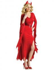 Costume diavolessa rossa elegante donna
