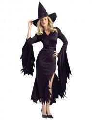 Costume da strega nera per donna halloween