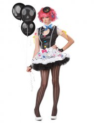 Costume clown sexy per donna