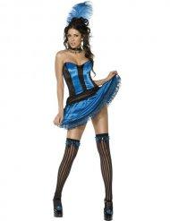 Costume da ballerina di cancan per donna