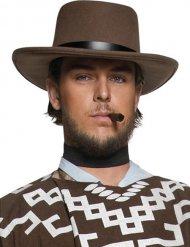 Cappello da sceriffo del west marrone