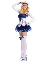 Costume da marinaio sexy con tutu per donna