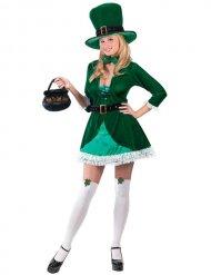 Costume da folletto irlandese sexy per donna