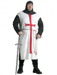 Costume cavaliere templare grandi taglie uomo