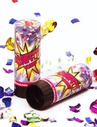 Cannone spara coriandoli multicolore