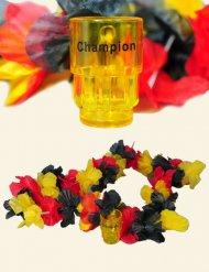 Collana di fiori Germania con bicchieri da Shot