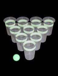 Kit Beer Pong fosforescente