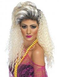 Parrucca lunga riccia anni 80 per donna