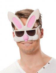Occhiali umoristici da conigli per adulto