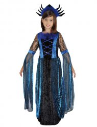 Costume regina dei ragni per bambina halloween
