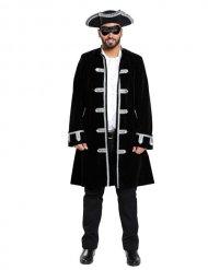 Costume giacca da pirata veneziano per uomo