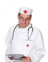 cappello da dottore con croce rossa