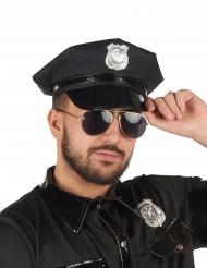 Cappellino nero da poliziotto