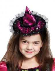 Mini cappello da strega per bambina