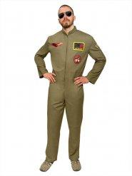 Costume da pilota di caccia militare per uomo