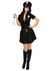 Costume da ufficiale poliziotta sexy per donna