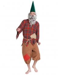 Costume da nano delle favole per adulto