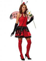 Costume da coccinella per donna