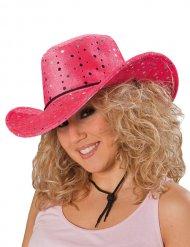 Image of Cappello da cowgirl rosa