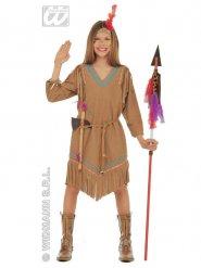 Costume da principessa indiana per bambina